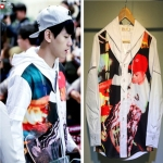 Supreme Arrested Hooded Shirt Sty.Baekhyun -ระบุไซต์-