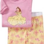 ชุดนอน Baby Gap แขนสั้น ลายเจ้าหญิง สีชมพู