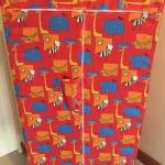 ตู้เสื้อผ้าปิคนิค 50x75x150ซม ใบละ 295 บาท ส่ง 20 ใบ (ทำจากผ้าโพลี) ถอดซักได้ ทนทาน ไม่ขาดง่าย