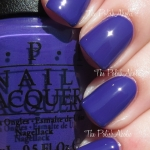OPI - Do you have this colour in stockholm สีม่วงครามสวย