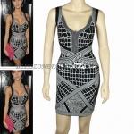 HV082 / Preorder Herve Legr Dress Style พรีออเดอร์เดรสไตล์ Hervr Leger เดรสผ้ายืด ใส่สวยเน้นรูปร่าง
