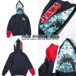 JACKET Hoodie Aape bape SHARK JAWS 16ss -ระบุไซต์-