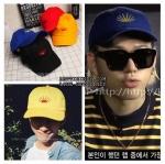 หมวกพระอาทิตย์ แบบ V BTS -ระบุสี-