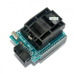 Socket 28 CHIP PROGRAMMER SOCKET TQFP32 QFP32/ LQFP32 TO DIP28 adapter socket for arduino atmega328 atmega168 atmega8