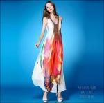 M5805168 / M L XL / 2015 Hiend Design Fashion dress พรีออเดอร์เดรสแฟชั่นงานเกรดยุโรป สวยดูดีมีสไตล์ นางแบบใส่ชุดจริง เป๊ะเว่อร์!