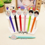 ปากกาการ์ตูน BTS characters -ระบุสมาชิก