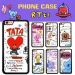 เคสโทรศัพท์ BTS BT21 in LINE -ระบุรุ่น/หมายเลข-