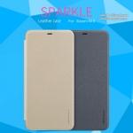 Xiaomi Mi 8 - เคสฝาพับ Nillkin Sparkle leather case แท้