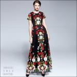 5904282 / S M L XL / DRESS FASHION พรีออเดอร์ เสื้อผ้าคุณภาพดี งานคัตติ้ง4ยุโรป นางแบบใส่งานจริง สวยคอนเฟริ์ม