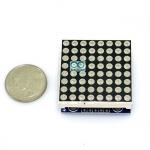LED Matrix Driver MAX7219 IC Driver Module + LED 3mm Dot Matrix 8x8 ขนาด 30mm x 30mm
