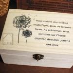 Pre order zakka กล่องไม้เอนกประสงค์