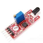 Flame Sensor Module ตรวจจับเปลวไฟด้วย Infrared IR Flame Detector Module KY-026