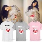 เสื้อยืด MEAL Sty.Hyuna -ระบุสี/ไซต์-