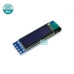 OLED 0.91 inch OLED LCD จอ OLED 128x32 แบบ I2C ขนาด 0.91 นิ้ว สีน้ำเงิน