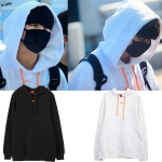 Hoodie OFF-WHITE Logo OFF Sty.Jungkook -ระบุไซต์/สี-
