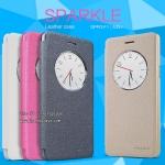OPPO F1 - เคสฝาพับ Nillkin Sparkle leather case แท้