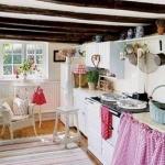 ไอเดียแต่งห้องครัวขนาดเล็กๆน่ารักแนวคันทรี่