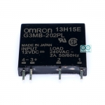 Omron SSR relay 12V 2A 240VAC Solid State Relay รีเลย์แบบไร้หน้าสัมผัสยี่ห้อ Omron 12V