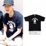เสื้อยืด BAPE® City camo college Sty.Baekhyun-ระบุไซต์/สี-