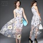 M5804193 / S M L XL / 2015 Fashion dress พรีออเดอร์เดรสแฟชั่นงานเกรดยุโรป สวยดูดีมีสไตล์ นางแบบใส่ชุดจริง เป๊ะเว่อร์!