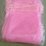 ถุงผ้าแก้วจีน (ส่ง 100ใบ/ 1สี)