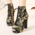 รองเท้าบูทลายทหาร ไซต์ 35-39