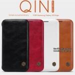 Samsung Galaxy S6 Edge - เคสฝาพับ หนัง Nillkin QIN Leather Case แท้