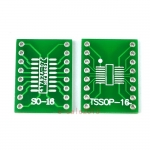 TSSOP16 SSOP16 MSOP16 SO16 SOP16 SOIC16 turn DIP16 1.27MM / 0.65MM IC adapter Socket / Adapter plate / PCB