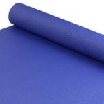 เสื่อโยคะ Yoga Mat 4mm สีน้ำเงิน พร้อมสายรัด และ กระเป๋า