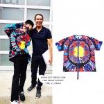 เสื้อยืด PEACEMINUSONE PMO TIE-DYE #4 (REDBLUE) Sty.GD -ระบุไซต์-