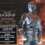 CD,Michael jackson - HIStory Past, Present, & Future, Book I(USA)