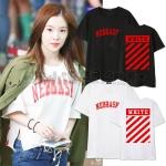 เสื้อยืด NEBRASKA OFF-WHITE Sty.Red Velvet -ระบุสี/ไซต์-