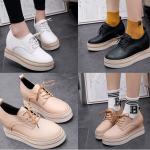 รองเท้าน่ารักๆสีครีม/ขาว/ดำ ไซต์ 35-39