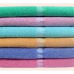 ผ้าขหนู Cotton100% 30*60นิ้ว 11.2ปอนด์ โหลละ 1440บาท ส่ง 10 โหล