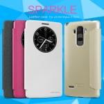 LG G4 Stylus - เคสฝาพับ Nillkin Sparkle leather case แท้