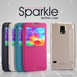 Samsung Galaxy S5 - เคสฝาพับ Nillkin Sparkle leather case แท้