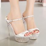 รองเท้าส้นแก้ว ไซต์ 35-42