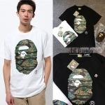 เสื้อยืด BAPE TIGER Camo Big Ape Head -ระบุสี/ไซต์-