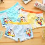 กางเกงในเด็ก 8108-2 คละสี (1 ถง มี 3 ตัว แพ็ค 8 ถุง รวม 24 ตัว) ไซส์ M อายุ 3-4 ปี