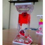 นาฬิกาน้ำหอคอย Water timer สีแดง