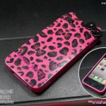 Kitty ชมพูมีโบว์ (TPU) - iPhone 4, 4s