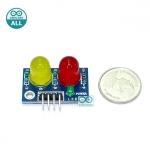LED Module ไฟแสดงสถานะ 2 ดวง 10mm สีเหลือง แดง