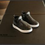 รองเท้าเด็กแฟชั่น สีดำ แพ็ค 4 คู่ ไซส์ 26-27-28-29