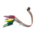 Jumper Wire Test Hook 10 เส้น
