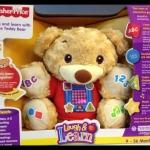 ตุ๊กตาหมีดนตรีแสนรู้ Sing & Learn with Teddy Bear by Fisher Price