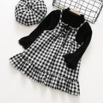 เสื้อ+ชุดกระโปรง สีดำ แพ็ค 5 ชุด ไซส์ 5-7-9-11-13