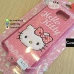 เคสหนังมีสายห้อยคอ Samsung Galaxy Note 5 : Hello Kitty พร้อมสาย