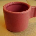 ของชำร่วยแก้วกาแฟหูจับเหลี่ยมทึบ