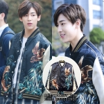 Jacket Saint Laurent Print Bomber Sty.GOT7-ระบุไซต์-