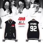 Jacket Basketball 4MINUTE 4M HATE -ระบุสมาชิก/ไซต์-